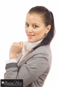 Female business executive