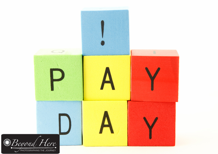 Concept for pay day