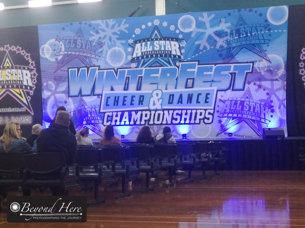 cheer leading competition background
